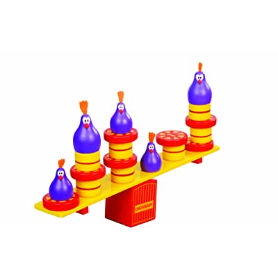 Blue Orange Games Chickyboom Award Winning Wooden Skill Building Balancing Game for Kids: Toys & Games