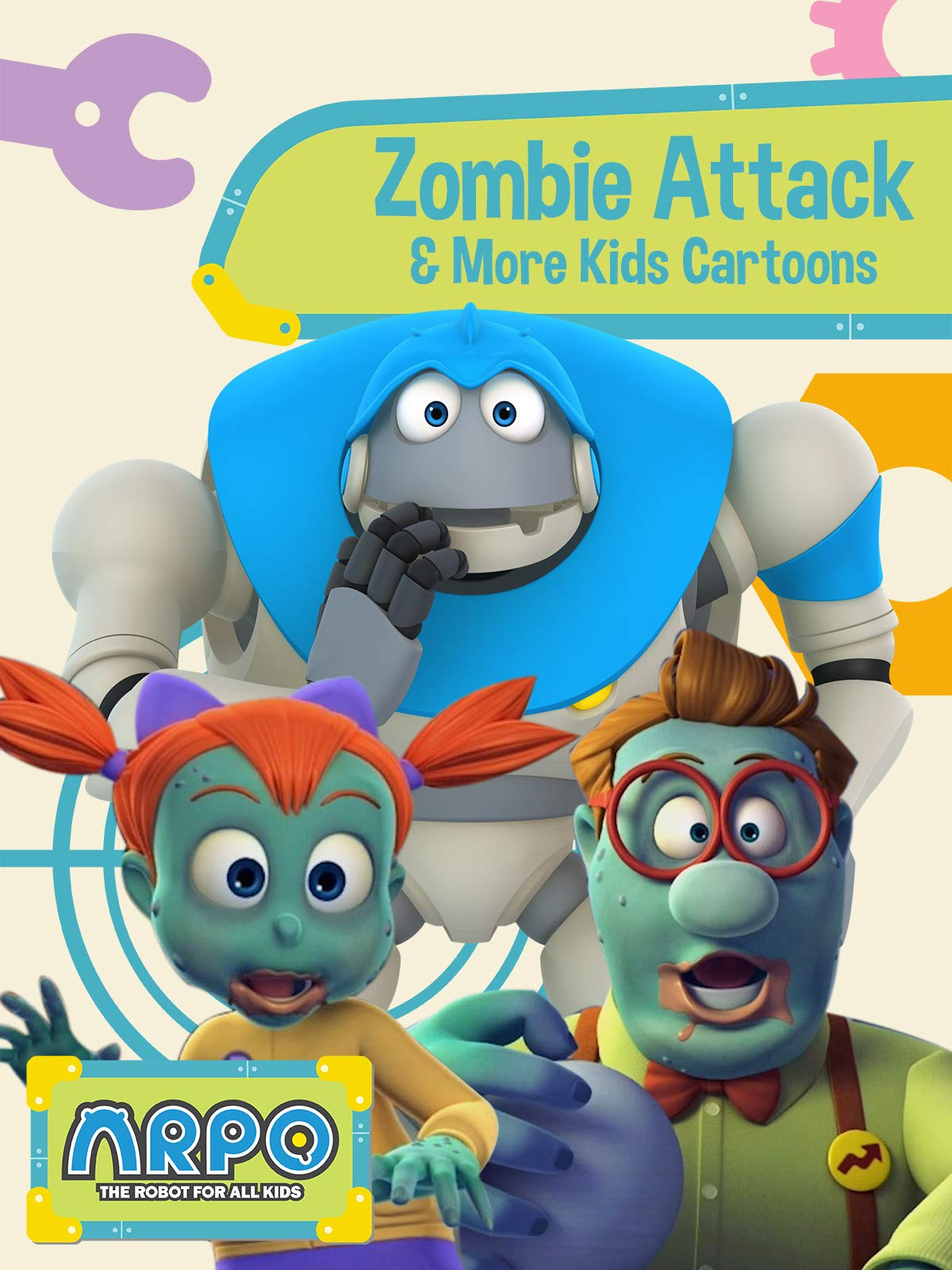 Arpo the Robot for All Kids - Zombie Attack & More Kids Cartoons
