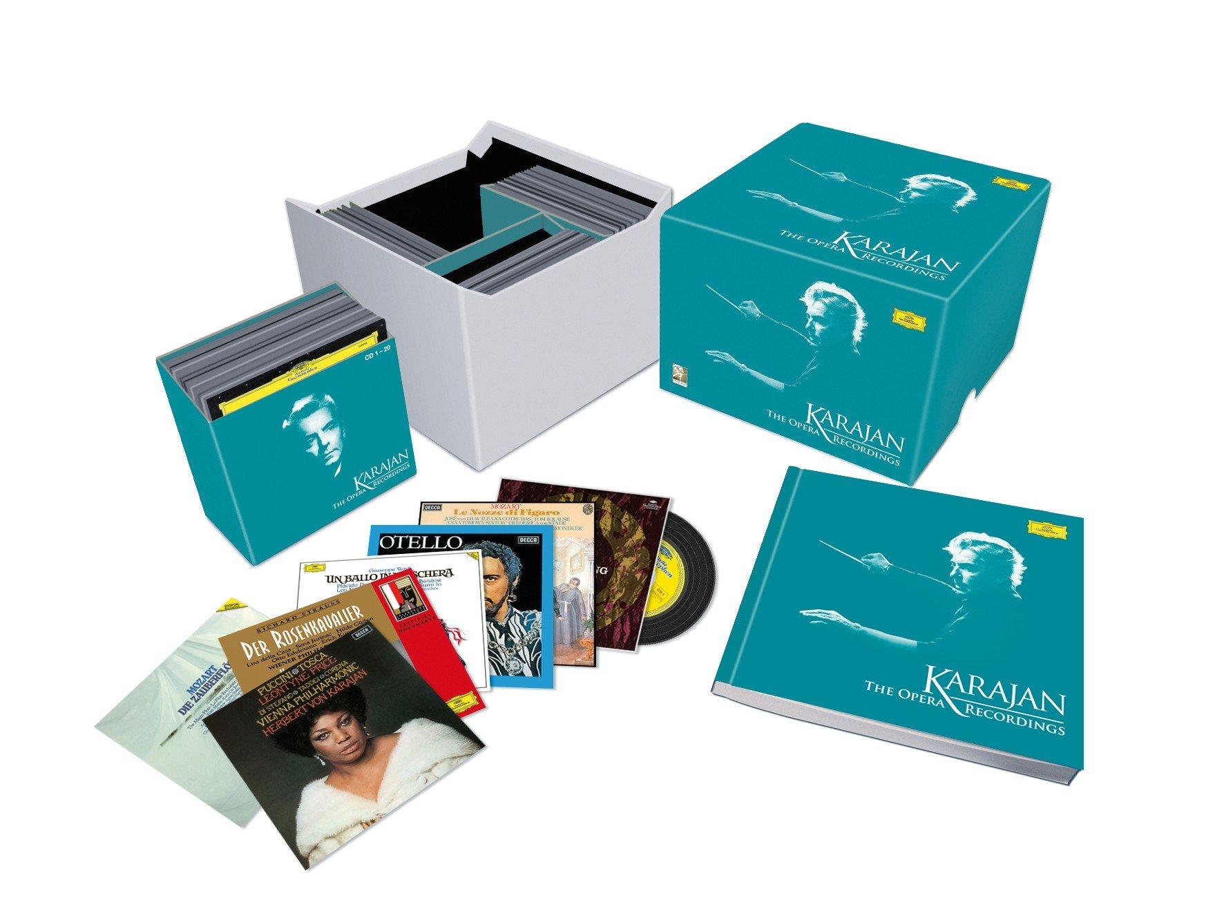 Karajan: The Opera Recordings by Deutsche Grammophon