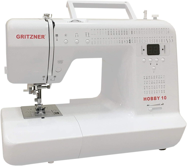 Gritzner Hobby 10 – Computer Máquina de Coser con 99 Puntadas ...