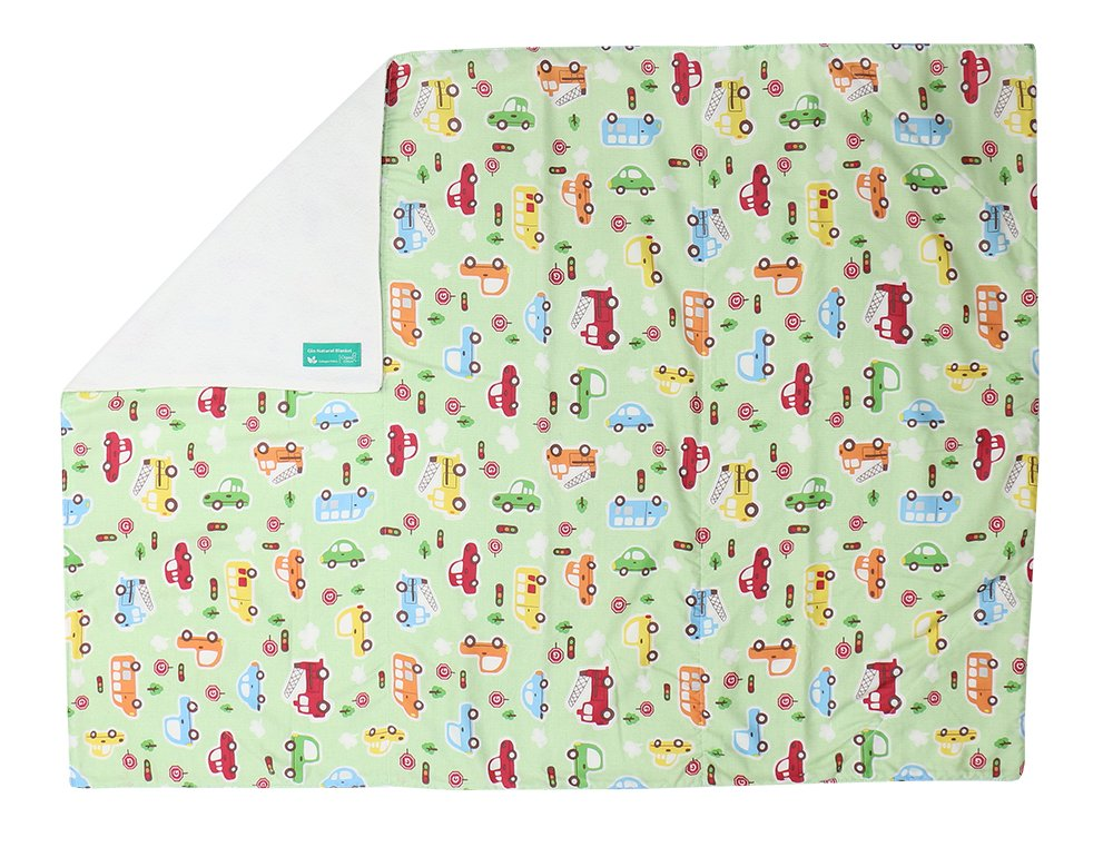 39x29 Gio Natural Blanket for Baby Baby car
