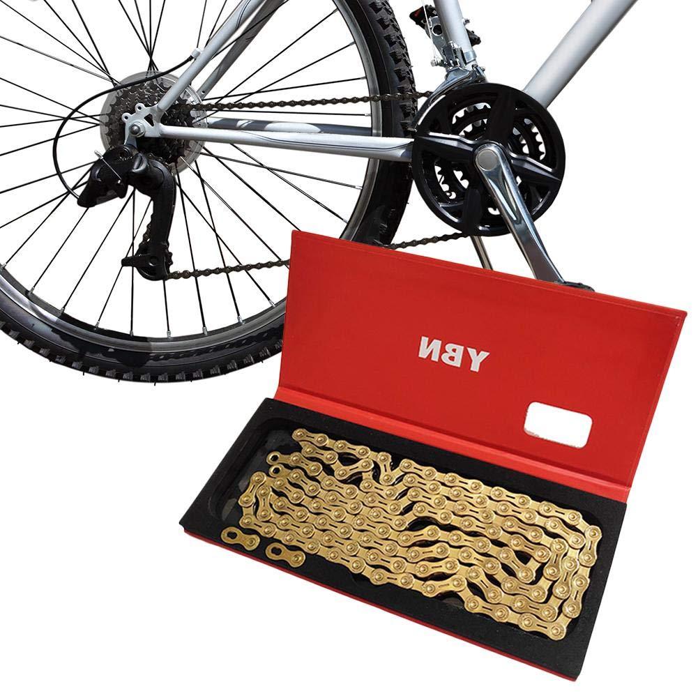 Bicicleta Cadena de Eslabones Shimano/CAMPANOLO/SRAM Acesorios para Bicicletas Cadena de Bicicleta de Montaña, 11 Velocidades, Cadena Semiabierta Seasaleshop