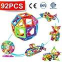 Crenova 92-Piece Magnetic Building Blocks