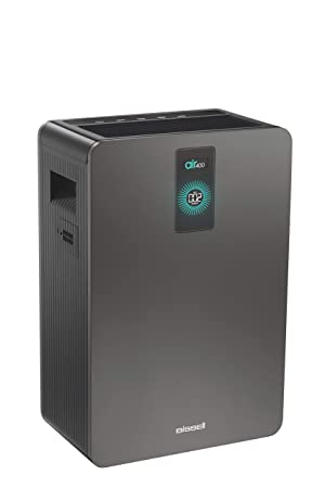 Bissell air400 Air Purifier with High Efficiency Filter and CirQulate System, Grey, 24791