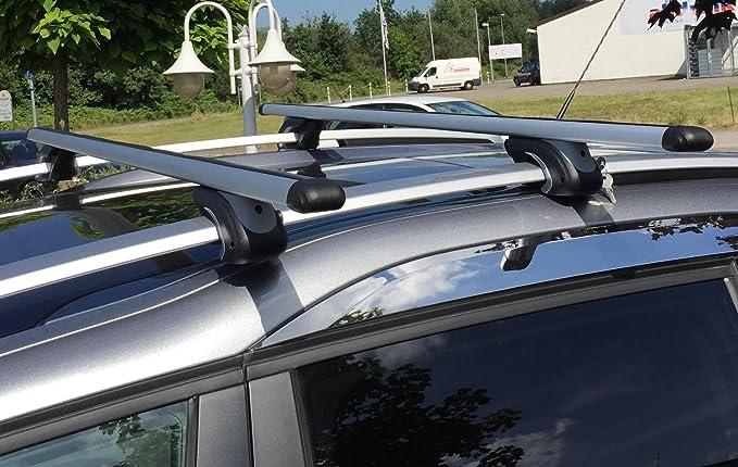 Vdp Alu Relingträger Xl135 Kompatibel Mit Nissan Qashqai 2 08 13 Bis Abschliessbar Auto