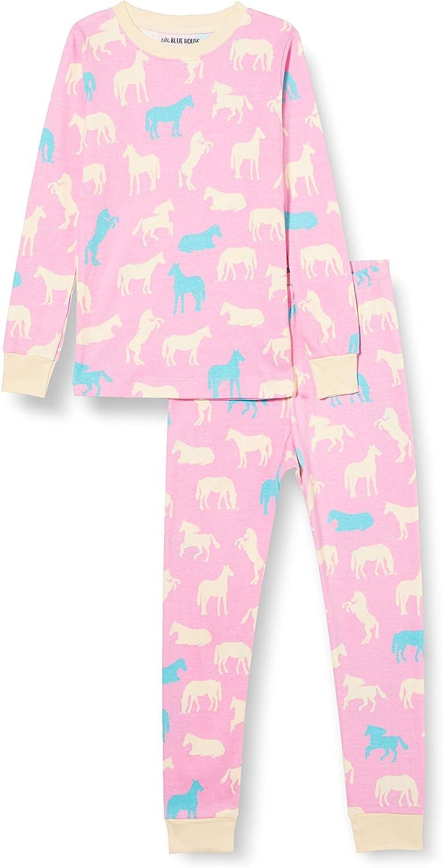 Hatley Long Sleeve Printed Pajama Set Juego de Pijama para Niñas