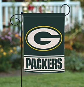 Home Garden Flags Double Sided, Burlap American Football House Yard Decoration, America Patriotic Rustic Seasonal Yard Flags 12.5 x 18 Inch AG013