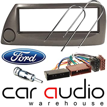 Ford Ka Grey Full Car Stereo Radio Fitting Kit Includes A Grey Facia Adapter