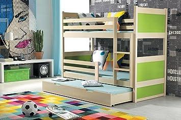 Interbeds Etagenbett : Interbeds etagenbett rico farbe kiefer matratze