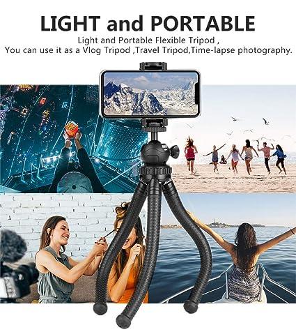 YWSZY Pulpo Flexible Trípode Vlog Video Monopod Selfie Stick ...