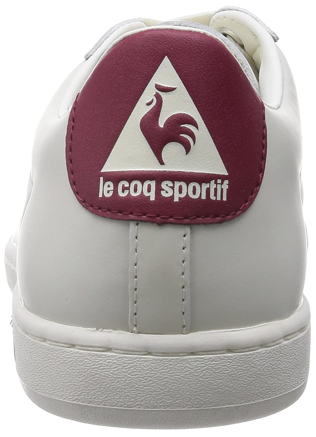 Le Coq Sportif Arthur Ashe Int Low Lace L, Sneakers Basses Adulte Mixte - Multicolore (Ruby Wine), 44 EU