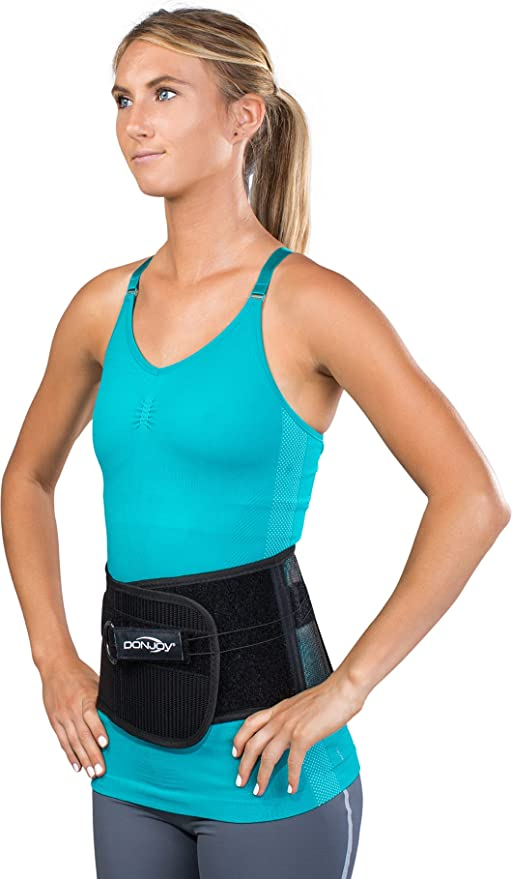 6c27ff1921 Amazon.com: DonJoy LO Lite Wrap-Around Back Support Brace: Sports & Outdoors