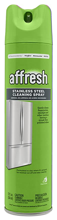 Affresh W11042467 Stainless Steel Cleaning Spray, 12 Oz