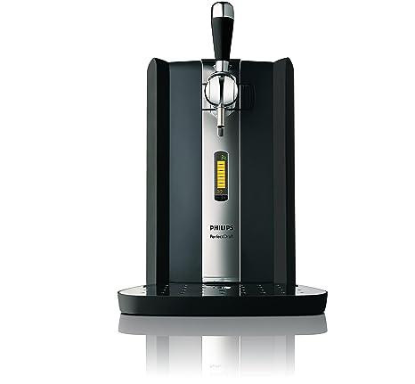 Philips HD3620/25 Batidora Americana de Vaso, Jarra 1,8 L Cristal, Bate al Vacio, 1400 W, Acero INOX, Negro, Cromo