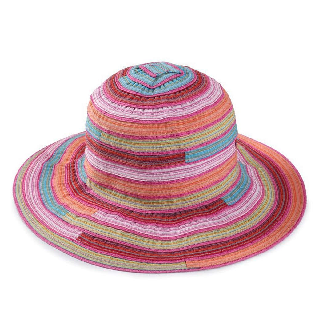 Cappello da Pescatore Donna Berretti Visiera di Spiaggia ...
