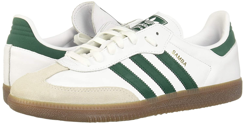 32894bc43 Amazon.com | adidas Originals Samba Shoes 11.5 D(M) US FTW White/Collegiate  Green/Crystal White | Fashion Sneakers
