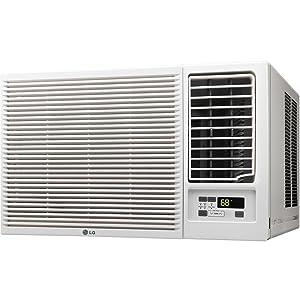 LG LW1816HR 18000 BTU 230V Conditioner & Heat Window-Mounted Air Conditioner White
