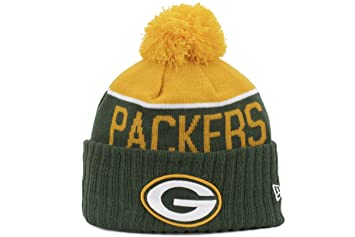 Green Bay Packers New Era 2015 NFL Official Sideline Sport Knit Hat - Size  One Size cefa292a3