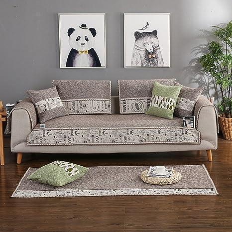 Funda para sofá Algodón Protector para sofás Seccional ...