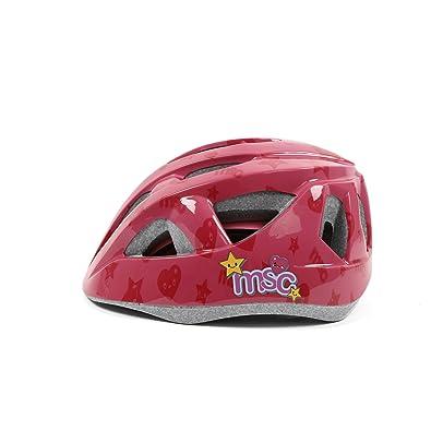 MSC Bikes Msc Outmold - Casco, color rosa, talla XS/S