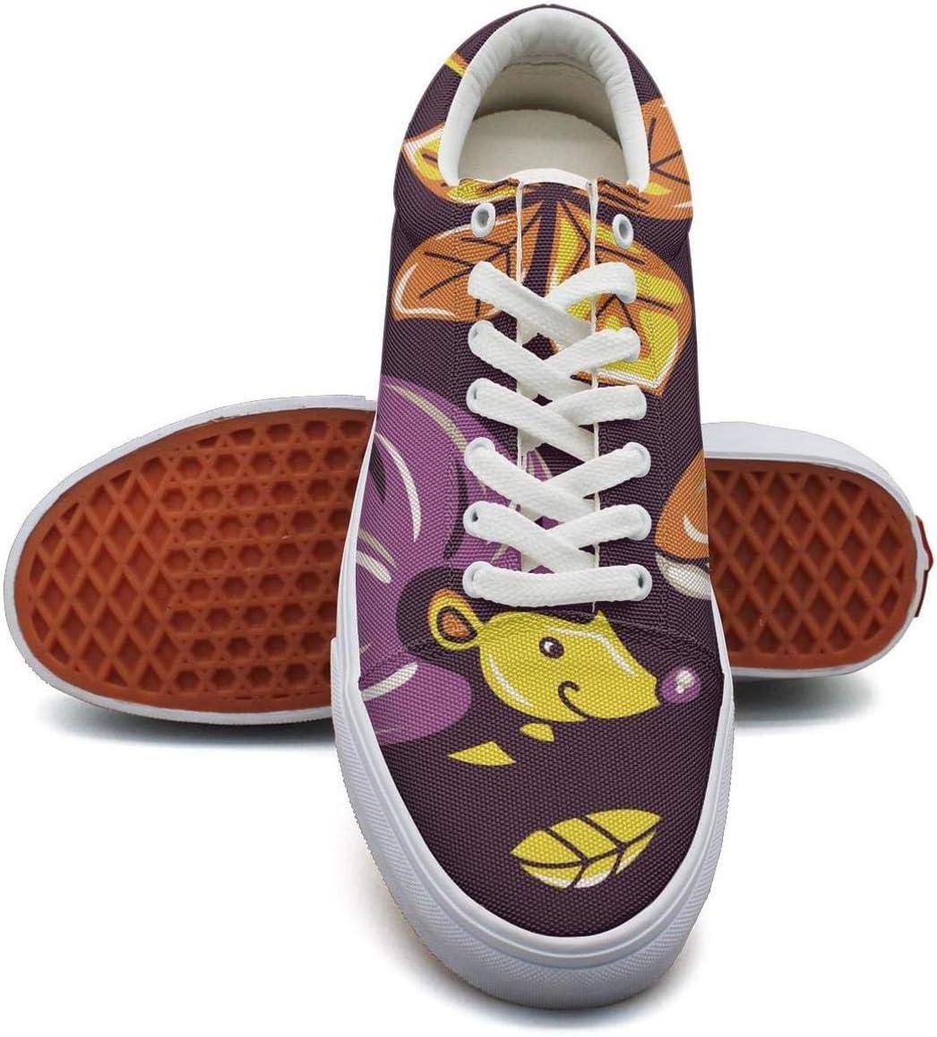 Ouxioaz Womens Skateboarding Shoes Canvas Mushrooms Sport Sneaker