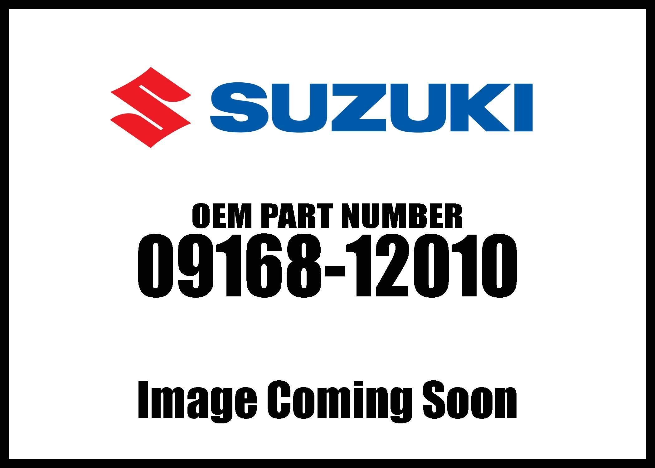 Suzuki Gasket Oil Hose 09168-12010 New Oem