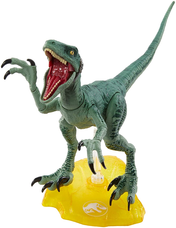 Jurassic World Amber Collection Velociraptor Charlie Raptor Squad In Hand SEALED