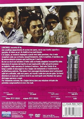 Dabba_(The_Lunchbox) [Italia] [DVD]: Amazon.es: Nimrat Kaur ...