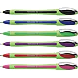 Schneider Xpress Fineliner Pens 0.8mm Assorted Colors - Pack 6