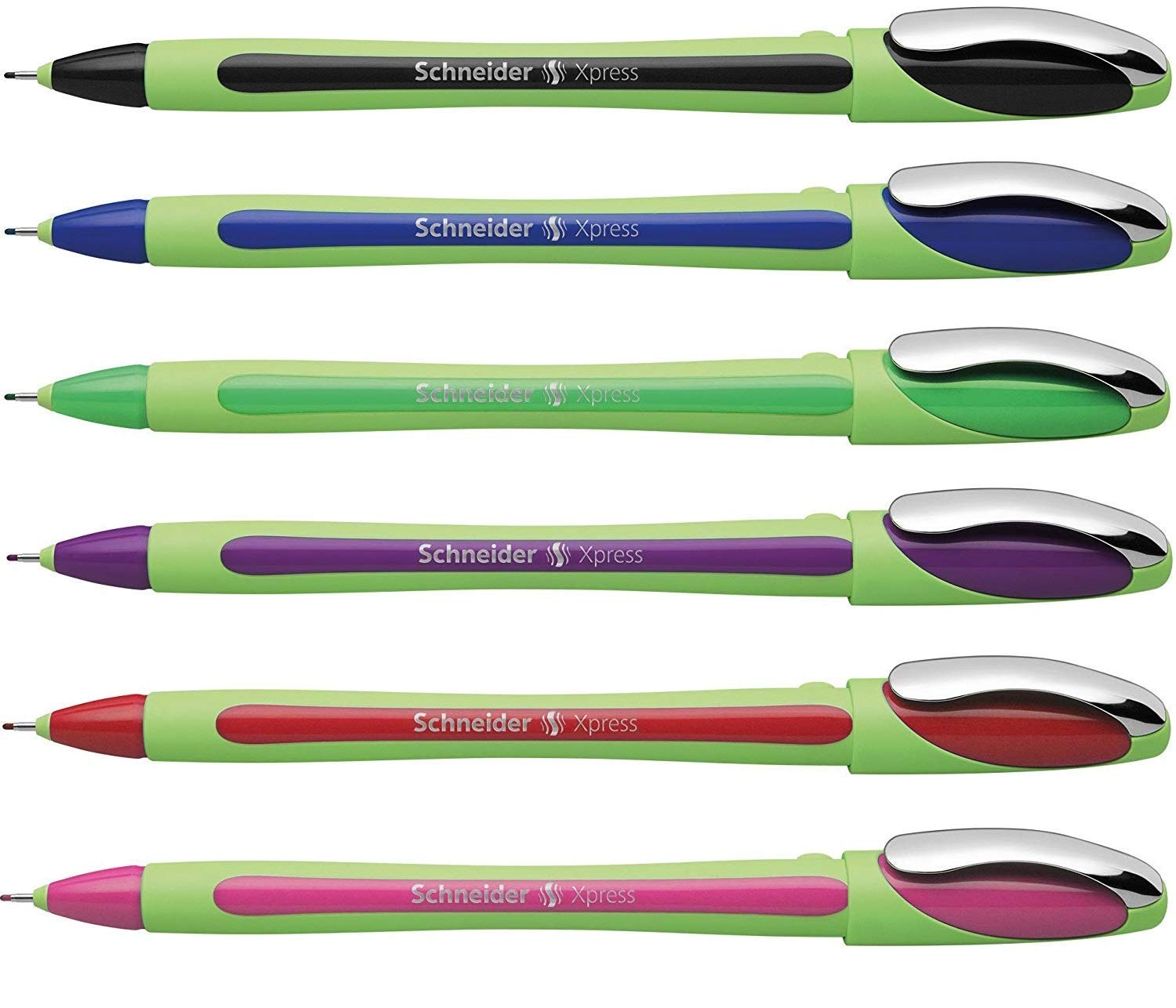 Schneider Xpress Fineliner 0.8mm Comfy Grip Waterproof Black