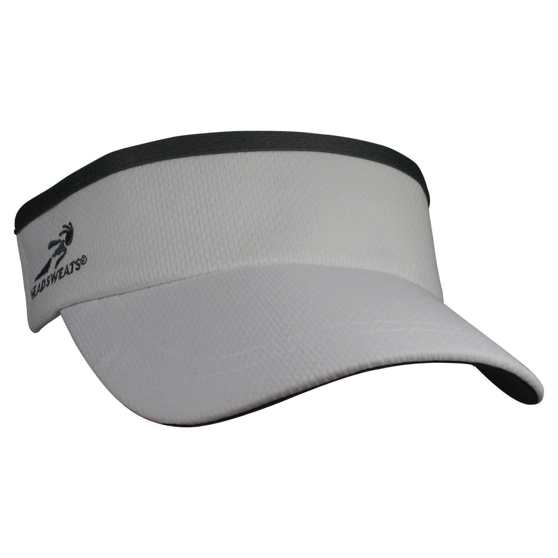 Headsweats Supervisor Sun/Race/Running/Outdoor Sports Visor, Grey, One Size