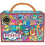 eeBoo Animal Alphabet Puzzle, 20 pieces