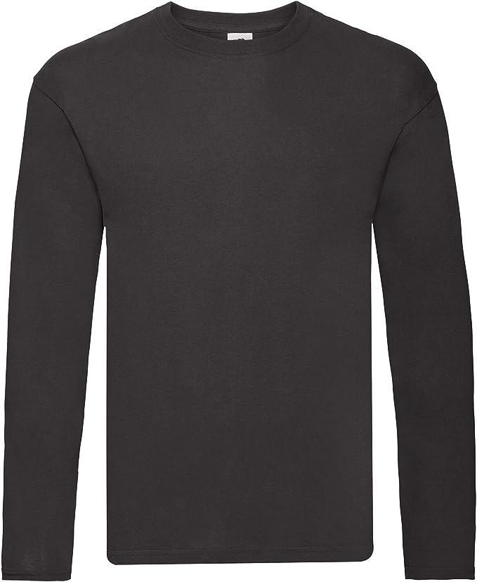 Fruit Of The Loom Mens Original Long Sleeve T-Shirt PC3035