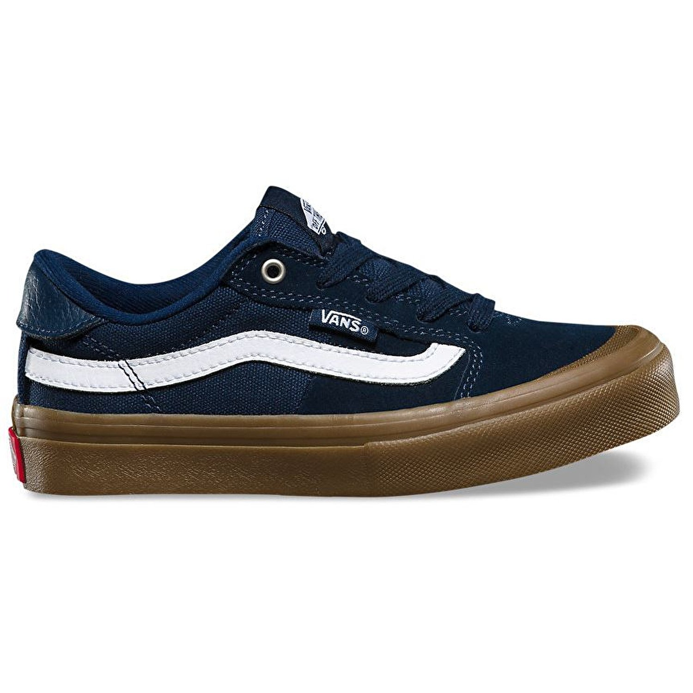 a087f22121 Vans Style 112 Pro Kids Skate Shoes - Navy Gum White (11UK)  Amazon.co.uk   Sports   Outdoors