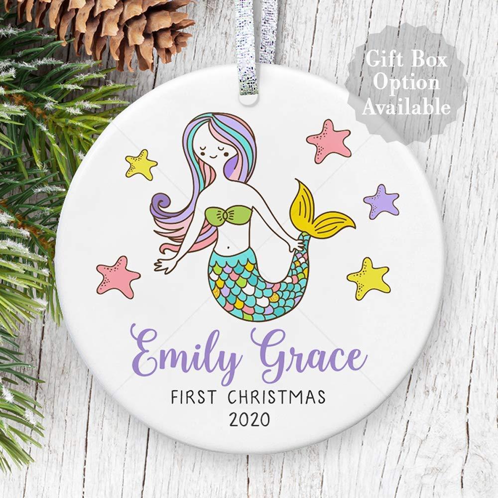 Christmas Ornament-Baby/'s First Christmas Ornament-Our First Christmas Ornament-Personalized Christmas Ornament-Baby Christmas Gift