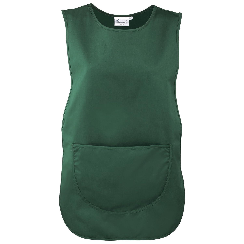 Premier Ladies//Womens Pocket Tabard 3XL Workwear Black