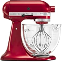KitchenAid RRK150 Artisan 5-QT Tilt Stand Mixer with Glass Bowl