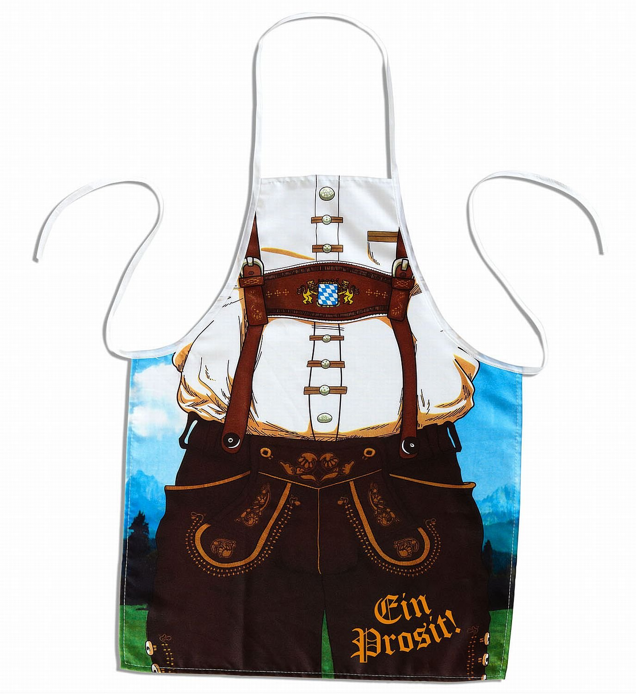 Adult's Bavarian Man Apron sancto 9438M