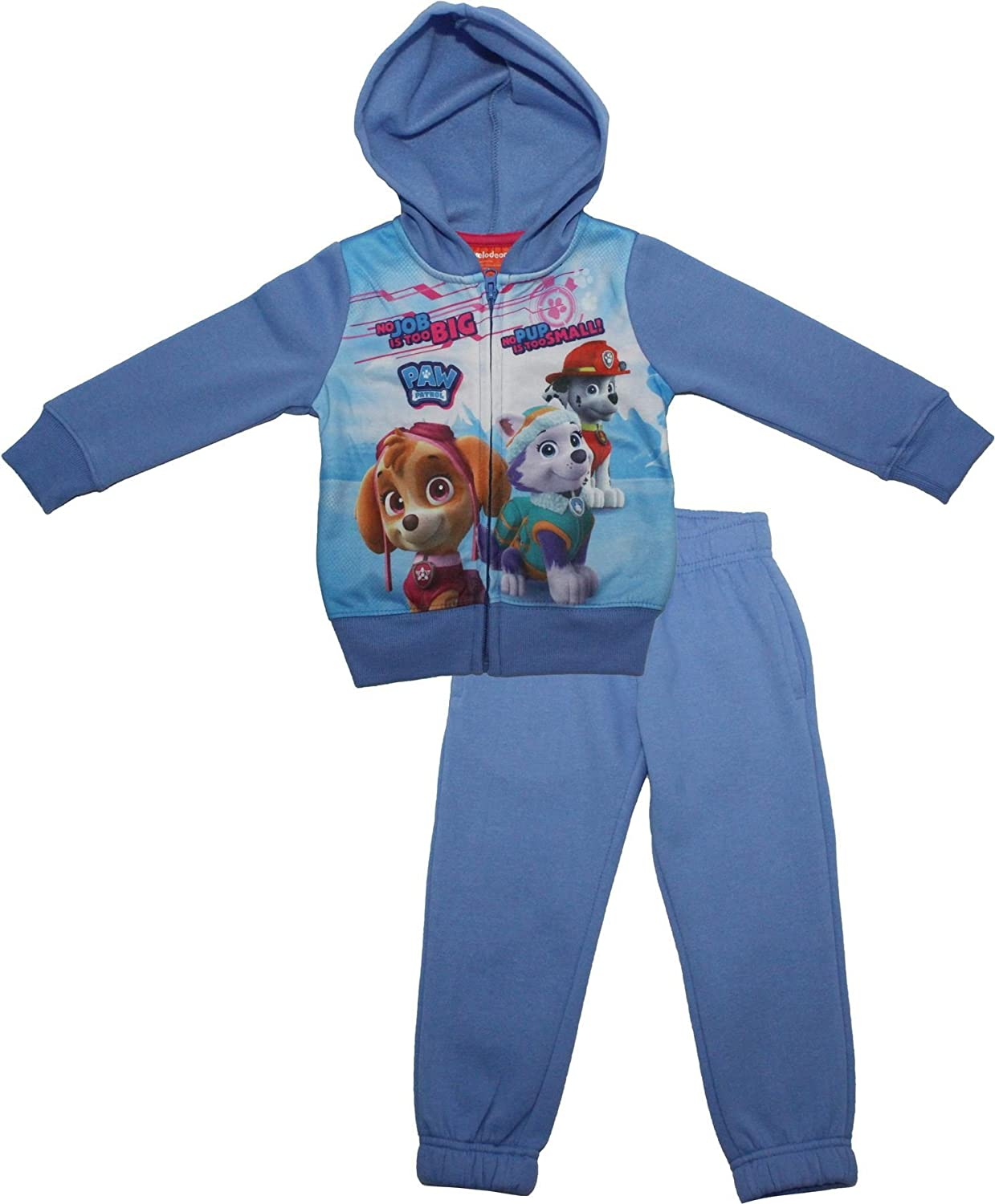 Paw Patrol Girls No Job To Big Hooded Tracksuit By BestTrend