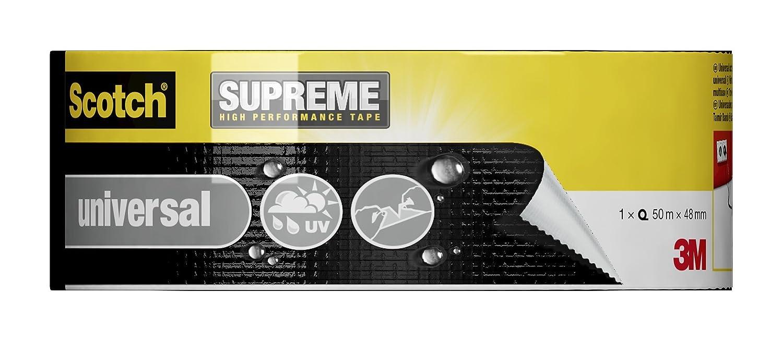 Scotch 4101B50 - Cinta americana para uso general (50 m x 48 mm) color negro, 1 unidad: Amazon.es: Bricolaje y herramientas