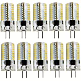AQY-120S1509TCOB 2pk Warm White 120V 2.3w G4 Crystal CoB LED JC Bi-Pin Cluster Light Bulb