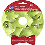 Wilton 6-Piece Christmas Cookie Cutter Set