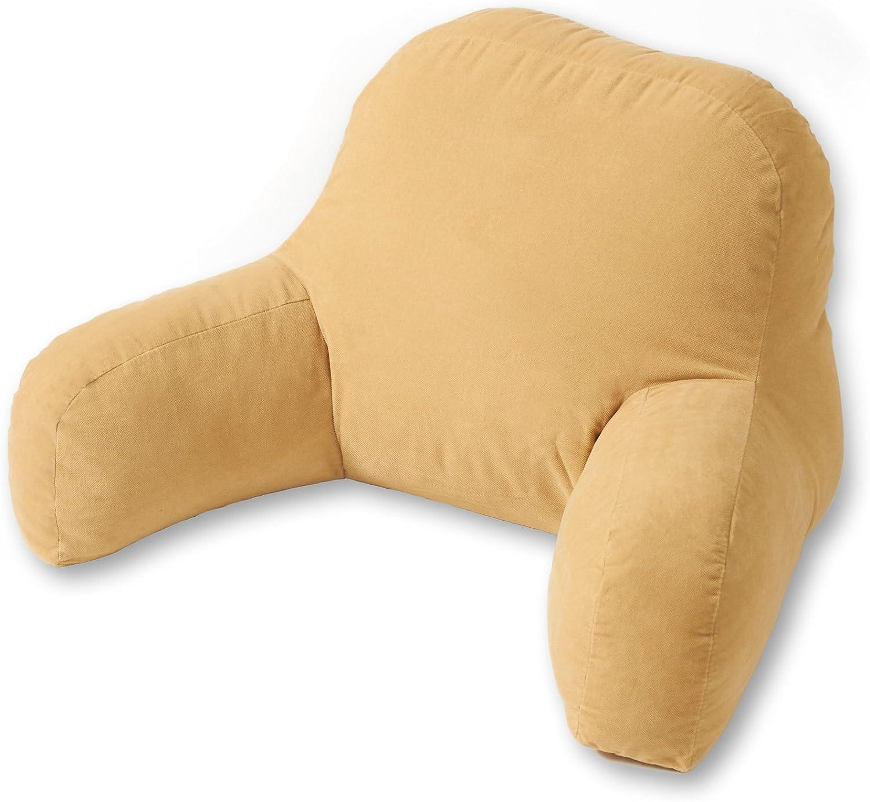 Greendale Home Fashions Bed Rest Pillow Hyatt, Cream