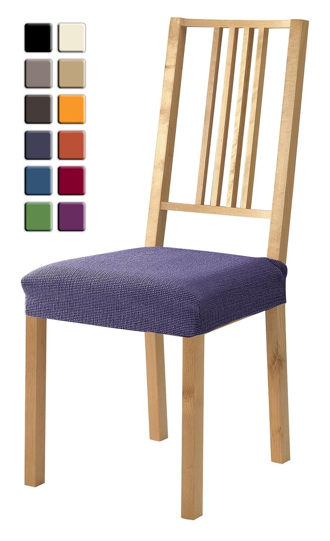 SCHEFFLER-HOME Zara Fundas para asiento de sillas 2 piezas ...