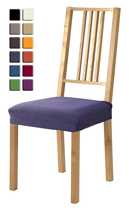 SCHEFFLER HOME Zara Seat Covers For Dining Room 2 Pcs Stretch Chair