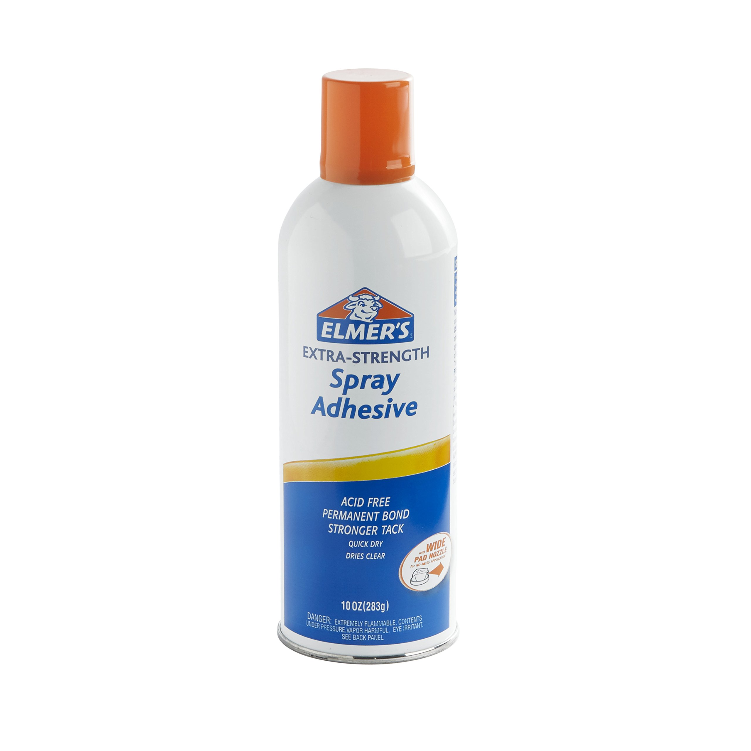 ELMERS Extra Strength Spray Adhesive, 10 Oz, Clear (E456)