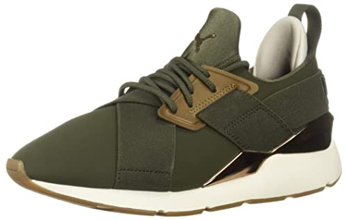 bf475daa9bc558 Puma Women s Muse WN s Sneaker  Amazon.co.uk  Shoes   Bags