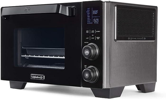 Calphalon 2106488 Cool Touch Countertop Oven, Black/Silver