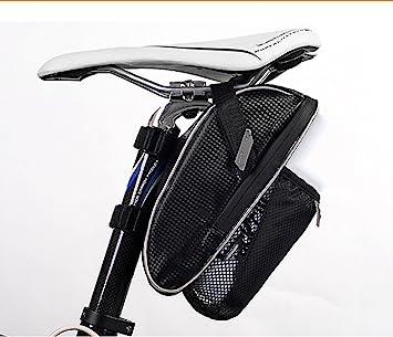 GXWFUI - Bolsa de sillín Impermeable para Bicicleta, Ajustable y Ligera, para Bicicleta de