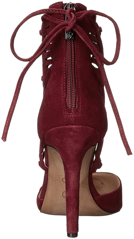 Jessica Simpson Women's Cynessa Dress Pump, Port Red, 10 M US